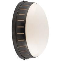 Visual Comfort TOB2082BZ-WG Thomas OBrien Hicks 1 Light 6 inch Bronze Bath Wall Light