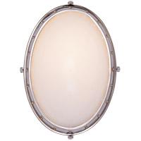 Visual Comfort TOB2082PN-WG Thomas OBrien Hicks 1 Light 6 inch Polished Nickel Bath Wall Light