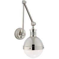 Visual Comfort TOB2090PN-WG Thomas Obrien Hicks 30 inch 60 watt Polished Nickel Swing-Arm Wall Light