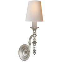 Visual Comfort TOB2110BSL-NP Thomas OBrien Chandler 1 Light 6 inch Burnished Silver Leaf Decorative Wall Light
