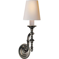 Visual Comfort Thomas OBrien Chandler 1 Light Decorative Wall Light in Bronze TOB2110BZ-NP