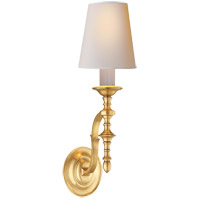 Visual Comfort TOB2110HAB-NP Thomas O'Brien Chandler 1 Light 6 inch Hand-Rubbed Antique Brass Decorative Wall Light
