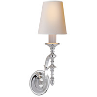 Visual Comfort TOB2110PS-NP Thomas O'Brien Chandler 1 Light 6 inch Polished Silver Decorative Wall Light