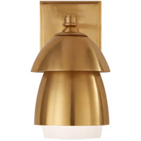 Visual Comfort TOB2111HAB-HAB Thomas OBrien Whitman 1 Light 5 inch Hand-Rubbed Antique Brass Wall Sconce Wall Light