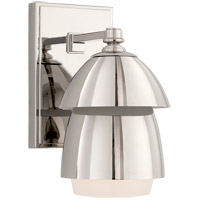 Visual Comfort TOB2111PN-PN Thomas OBrien Whitman 1 Light 5 inch Polished Nickel Wall Sconce Wall Light
