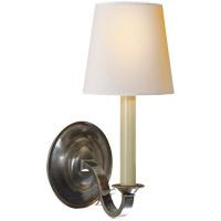 Visual Comfort TOB2120BZ-NP Thomas Obrien Channing 1 Light 6 inch Bronze Decorative Wall Light