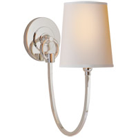 Visual Comfort TOB2125PN-NP Thomas OBrien Reed 1 Light 5 inch Polished Nickel Decorative Wall Light photo thumbnail