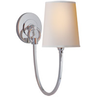 Visual Comfort TOB2125PS-NP Thomas O'Brien Reed 1 Light 5 inch Polished Silver Decorative Wall Light