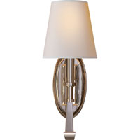 Visual Comfort Thomas OBrien Calliope 1 Light Decorative Wall Light in Polished Nickel TOB2135PN-NP