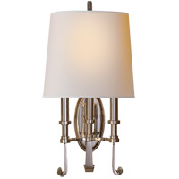 Visual Comfort TOB2137PN-NP Thomas O'Brien Calliope 3 Light 11 inch Polished Nickel Decorative Wall Light