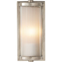 Visual Comfort Thomas OBrien Dresser 1 Light Bath Wall Light in Antique Nickel TOB2140AN-FG