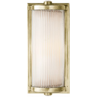 Thomas Obrien Dresser 1 Light 5 inch Antique Nickel Bath Wall Light