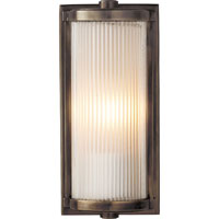 Visual Comfort Thomas OBrien Dresser 1 Light Bath Wall Light in Bronze with Wax TOB2140BZ-FG