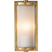 Visual Comfort Thomas OBrien Dresser 1 Light Bath Wall Light in Hand-Rubbed Antique Brass TOB2140HAB-FG