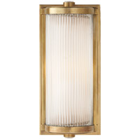 Visual Comfort TOB2140HAB-FG Thomas OBrien Dresser 1 Light 5 inch Hand-Rubbed Antique Brass Bath Wall Light