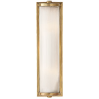 Visual Comfort TOB2141HAB-FG Thomas OBrien Dresser 2 Light 5 inch Hand-Rubbed Antique Brass Bath Wall Light