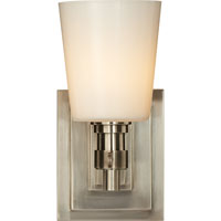 Visual Comfort Thomas OBrien Bryant 1 Light Bath Wall Light in Antique Nickel TOB2152AN-WG