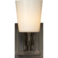 Visual Comfort Thomas OBrien Bryant 1 Light Bath Wall Light in Bronze TOB2152BZ-WG