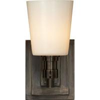 Visual Comfort TOB2152BZ-WG Thomas OBrien Bryant 1 Light 4 inch Bronze Bath Wall Light