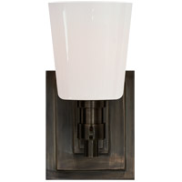 Visual Comfort TOB2152BZ-WG Thomas Obrien Bryant 1 Light 4 inch Bronze Bath Wall Light