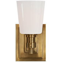 Thomas OBrien Bryant 1 Light 4 inch Hand-Rubbed Antique Brass Bath Wall Light