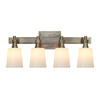 Visual Comfort Thomas OBrien Bryant 4 Light Bath Wall Light in Antique Nickel TOB2153AN-WG