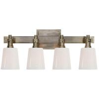 Visual Comfort TOB2153AN-WG Thomas Obrien Bryant 4 Light 20 inch Antique Nickel Bath Wall Light
