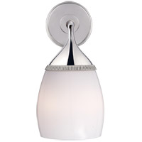 Visual Comfort TOB2178PN-WG Thomas OBrien Carmen 2 Light 7 inch Polished Nickel Bath Wall Light