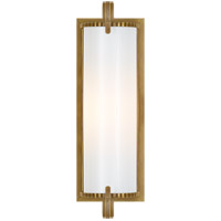 Visual Comfort TOB2184HAB-WG Thomas O'Brien Calliope 1 Light 4 inch Hand-Rubbed Antique Brass Bath Wall Light