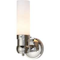 Visual Comfort Thomas OBrien Graydon 1 Light Bath Wall Light in Polished Nickel TOB2187PN-WG