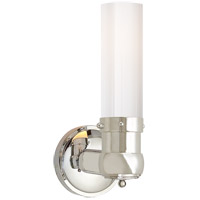 Visual Comfort TOB2187PN-WG Thomas Obrien Graydon 1 Light 4 inch Polished Nickel Bath Wall Light