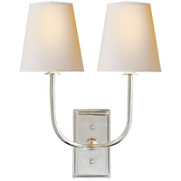 Visual Comfort TOB2191PN-NP Thomas Obrien Hulton 2 Light 14 inch Polished Nickel Decorative Wall Light