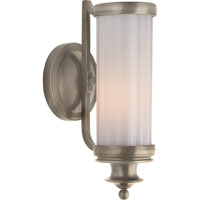 Visual Comfort Thomas OBrien Milton Road 1 Light Bath Wall Light in Antique Nickel TOB2197AN-WG