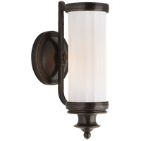 Visual Comfort Thomas Obrien Milton Road 1 Light 5 inch Bronze Bath Wall Light TOB2197BZ-WG - Open Box
