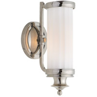 Visual Comfort Thomas OBrien Milton Road 1 Light 5 inch Polished Nickel Bath Wall Light TOB2197PN-WG - Open Box