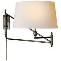 Thomas OBrien Paulo 51 inch 100 watt Bronze Swing-Arm Wall Light
