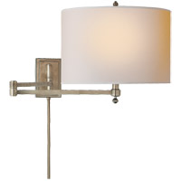 Visual Comfort TOB2204AN-NP Thomas Obrien Hudson 29 inch 60 watt Antique Nickel Swing-Arm Wall Light