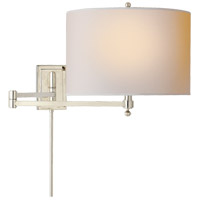 Visual Comfort TOB2204PN-NP Thomas O'Brien Hudson 29 inch 60 watt Polished Nickel Swing-Arm Wall Light