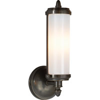 Visual Comfort Thomas OBrien Merchant 1 Light Bath Wall Light in Bronze with Wax TOB2206BZ-WG