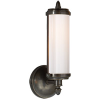 Visual Comfort TOB2206BZ-WG Thomas O'Brien Merchant 1 Light 5 inch Bronze Bath Wall Light