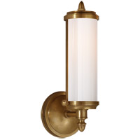 Visual Comfort TOB2206HAB-WG Thomas O'Brien Merchant 1 Light 5 inch Hand-Rubbed Antique Brass Bath Wall Light