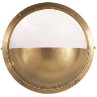 Visual Comfort TOB2208HAB-WG Thomas Obrien Pelham 1 Light 10 inch Hand-Rubbed Antique Brass Bath Wall Light