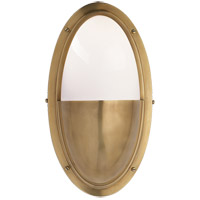 Thomas OBrien Pelham 1 Light 6 inch Hand-Rubbed Antique Brass Bath Wall Light