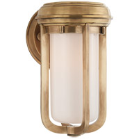 Visual Comfort TOB2210HAB-WG Thomas OBrien Milton 1 Light 6 inch Hand-Rubbed Antique Brass Decorative Wall Light