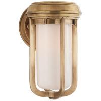Visual Comfort TOB2210HAB-WG Thomas OBrien Milton 1 Light 6 inch Hand-Rubbed Antique Brass Decorative Wall Light