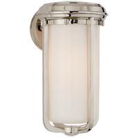 Visual Comfort TOB2211PN-WG Thomas OBrien Milton 1 Light 8 inch Polished Nickel Bath Wall Light