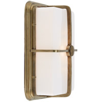Thomas OBrien Milton 1 Light 7 inch Hand-Rubbed Antique Brass Bath Wall Light