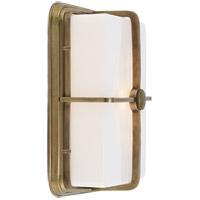 Visual Comfort TOB2212HAB-WG Thomas OBrien Milton 1 Light 7 inch Hand-Rubbed Antique Brass Bath Wall Light