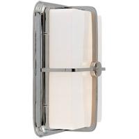 Visual Comfort TOB2212PN-WG Thomas OBrien Milton 1 Light 7 inch Polished Nickel Bath Wall Light