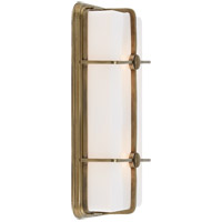 Visual Comfort TOB2213HAB-WG Thomas OBrien Milton 2 Light 7 inch Hand-Rubbed Antique Brass Bath Wall Light